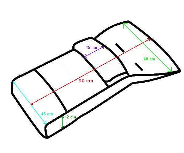 Сшить меховой конверт в коляску своими руками