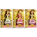 "Barbi - ��������� �������� (J0996, J0997, J0998) ""Princess Collection"""