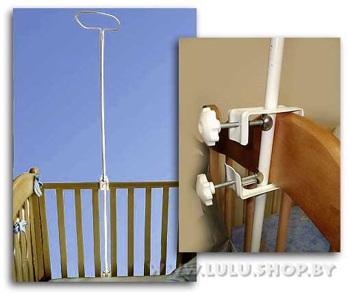 Как своими руками сделать держатель для балдахина для детской кроватки