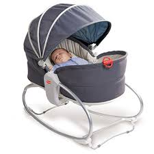 Шезлонг Tiny Love Rocker Napper 3-in-1 серый
